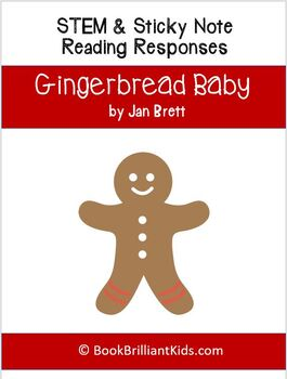Gingerbread Baby Reading Comprehension Activities Printable Pack