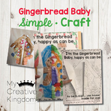Gingerbread Baby Simple Craft
