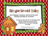 Gingerbread Baby - Speech and Language Mini Book Companion {FREEBIE}