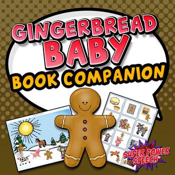 Gingerbread Baby Speech/Language Activities