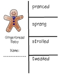 Gingerbread Baby Vocabulary and Spelling