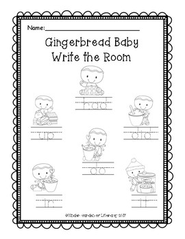 Gingerbread Baby-Write the Room