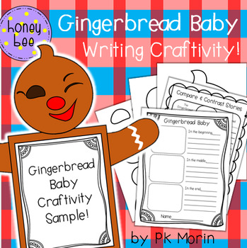 Gingerbread Baby Writing Craftivity