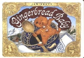 Gingerbread Baby by By Jan Brett-Vocabulary PP and Quiz
