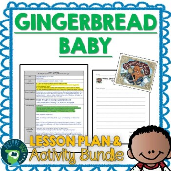 Gingerbread Baby by Jan Brett Lesson Plan and Activities