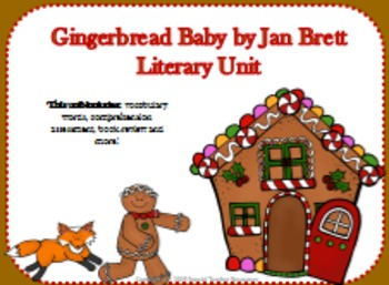 Gingerbread Baby by Jan Brett Literary Unit