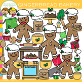 Gingerbread Bakery Clip Art