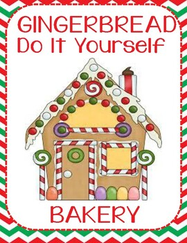 Gingerbread Bakery/ Do It Yourself Cookie/Dramatic Play