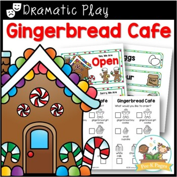 Gingerbread Bakery Dramatic Play