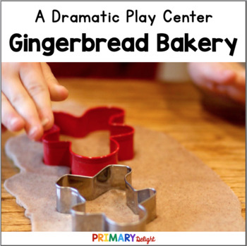 Gingerbread Bakery Dramatic Play Center {Gingerbread House}