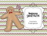 Gingerbread Beginning Sound Match