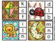 Gingerbread Beginning Sounds / Alphabet Sounds - Clip Cards