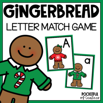 Gingerbread Beginning Sounds Match