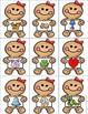 Beginning Sounds Match Game:  Gingerbread Theme