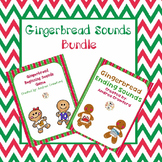 Gingerbread Beginning/Ending Sounds Games Bundle