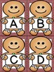 Gingerbread Boy Alphabet Letter Flashcards Uppercase and L