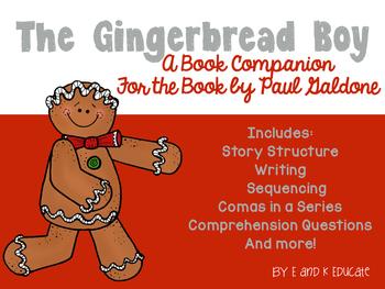 Gingerbread Boy Book Companion Mini Unit