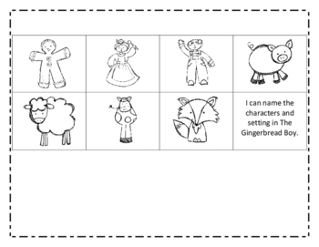 Gingerbread Boy Characters and Setting
