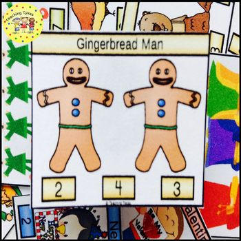 Gingerbread Man Task Cards