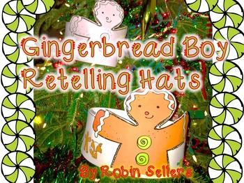 Gingerbread Boy Craft {Gingerbread Retelling Hat Craft}