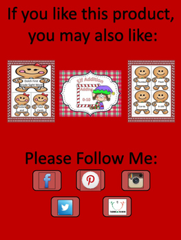 Gingerbread Boy Dolch Primer Sight Word Posters and Flashcards