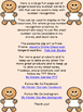 Gingerbread Boy Full Page Number Posters 0-100