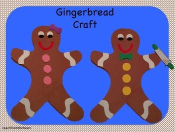 Gingerbread Boy & Girl (A Christmas Craft)