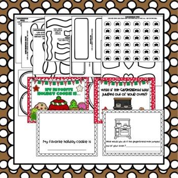 Gingerbread Boy & Girl Craft: Christmas Craft, December crafts