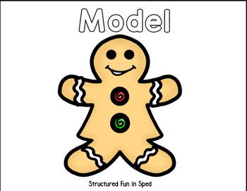 Gingerbread Boy/Girl Craft & Communicate Series