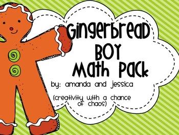Gingerbread Boy Math Pack