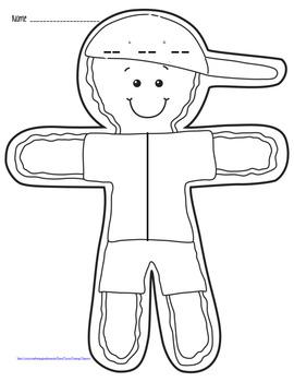 Gingerbread Boy Math Pack Craftivity