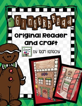Gingerbread Craft and Reader