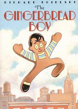 Gingerbread Boy Tiered Flip Book