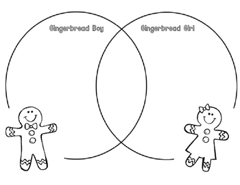 Gingerbread Boy and Gingerbread Girl Compare/Contrast