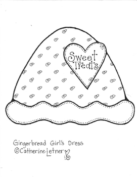 Gingerbread Boy and Girl Art Project