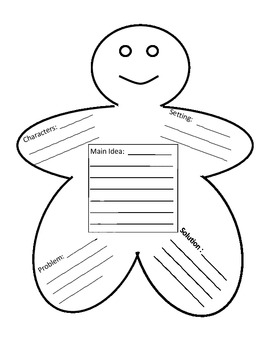Gingerbread Boy and Girl Story Map