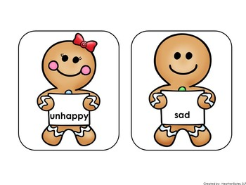 Gingerbread Boy and Girl synonyms