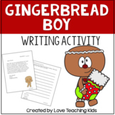 Gingerbread Boy writing activity