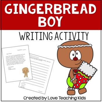 Gingerbread Boy writing activity