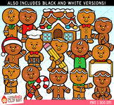 Gingerbread Boys Clipart