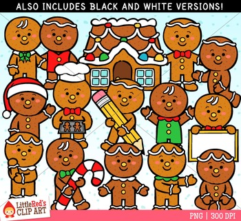 Gingerbread Boys Clipart