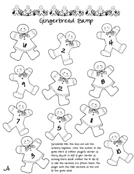 Gingerbread Bump Addition Game
