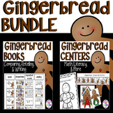 Gingerbread Bundle: Book Comparison Pack and Centers Pack