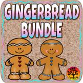 Gingerbread Bundle Math Literacy Fine Motor Sight Words Dramatic Play