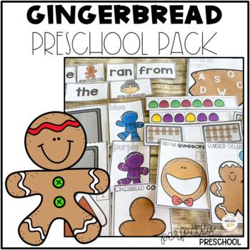 Gingerbread Bundle Pack {Pre-K}