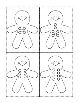 Gingerbread Button Addition