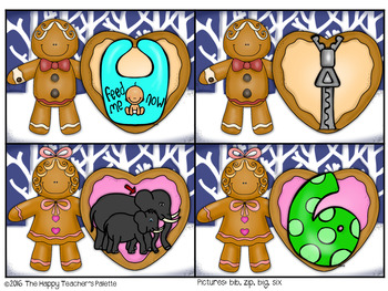 Gingerbread CVC Center ~Short I~