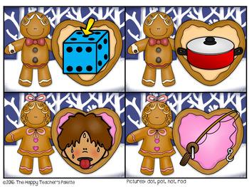 Gingerbread CVC Center ~Short O~