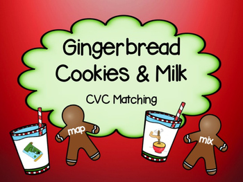 Gingerbread CVC Match