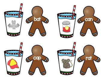 Gingerbread CVC Match